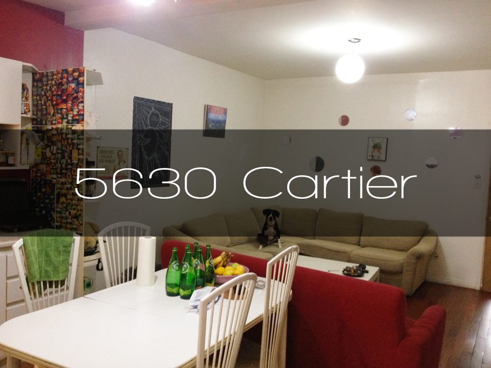 5630 rue cartier appartement louer en colocation for Meuble luxe montreal