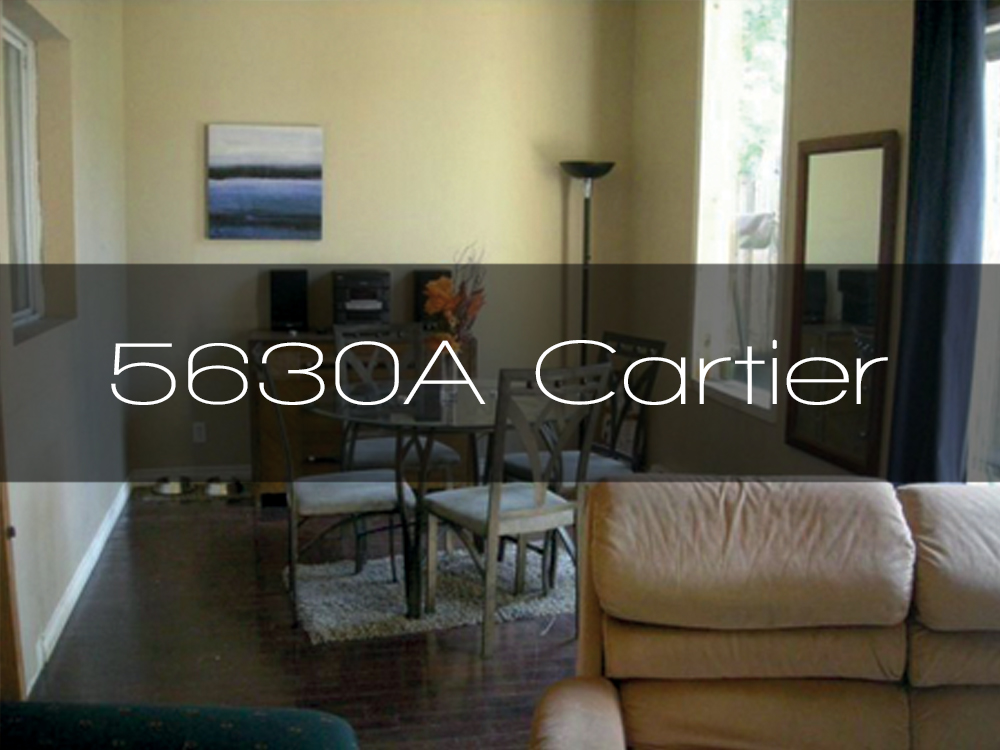 5630a cartier appartement louer en colocation for Meuble cite montreal