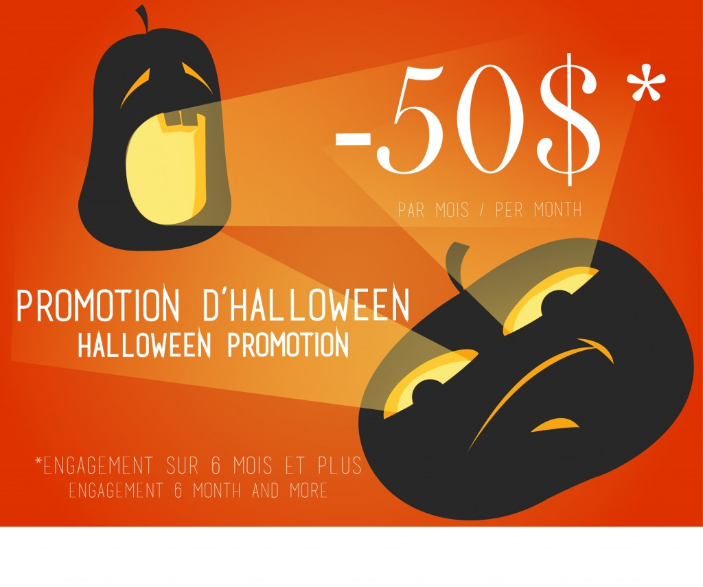 Promotion Halloween