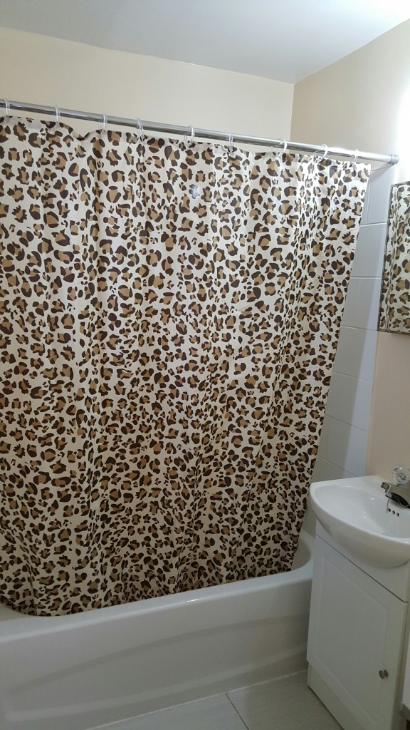 Rideau de douche tigre / Tiger shower curtain